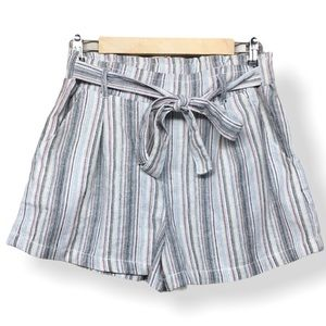 Ci Sono Striped Shorts
